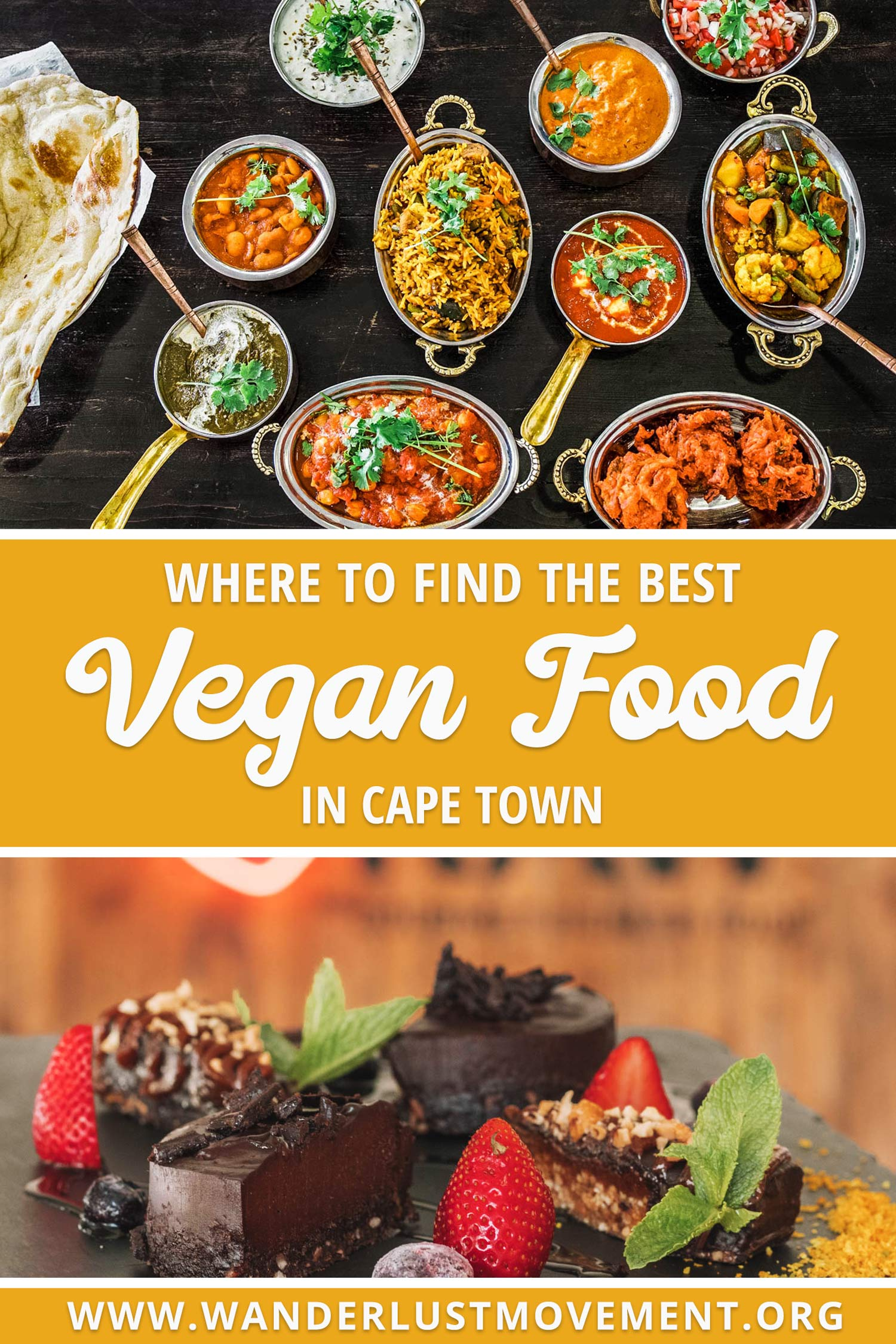 Cape Town is South Africa's vegan foodie mecca. The city is full of delicious plant-based restaurants, eateries and cafes. In fact, you'll be hard-pressed to find a menu that doesn't have at least one option for hungry vegans. Here are the best vegan restaurants in Cape Town! | Cape Town Travel Tips | South Africa Travel Tips | Vegan Travel | Vegan Restaurants | #southafrica #capetown #veganfood #vegantravel