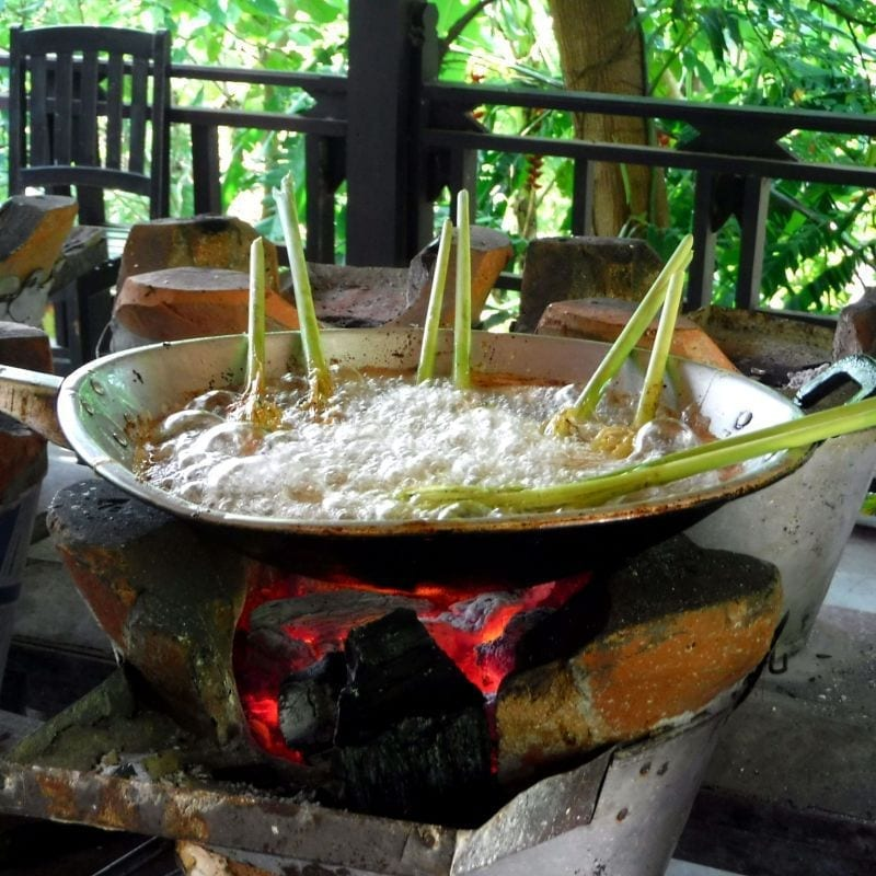Cooking Up a Storm at Tamarind Restaurant in Laos