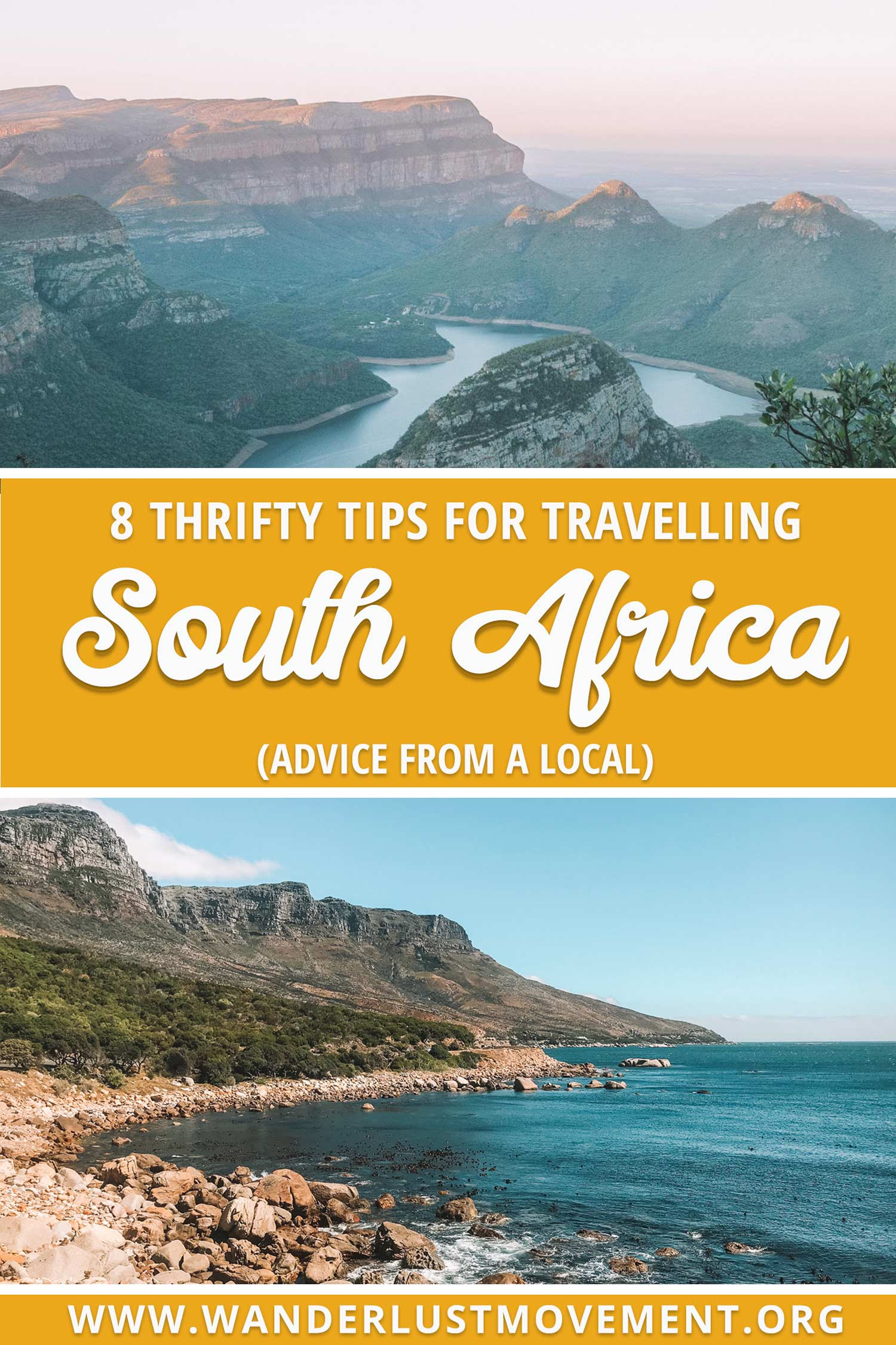 Planning a trip to South Africa on a budget? Here are some of the best travel tips from local travel bloggers. Find out the best apps to use, where to find discounts and how to get around. | South Africa travel | budget travel tips | South Africa travel tips | #southafrica #budgettravel #traveltips
