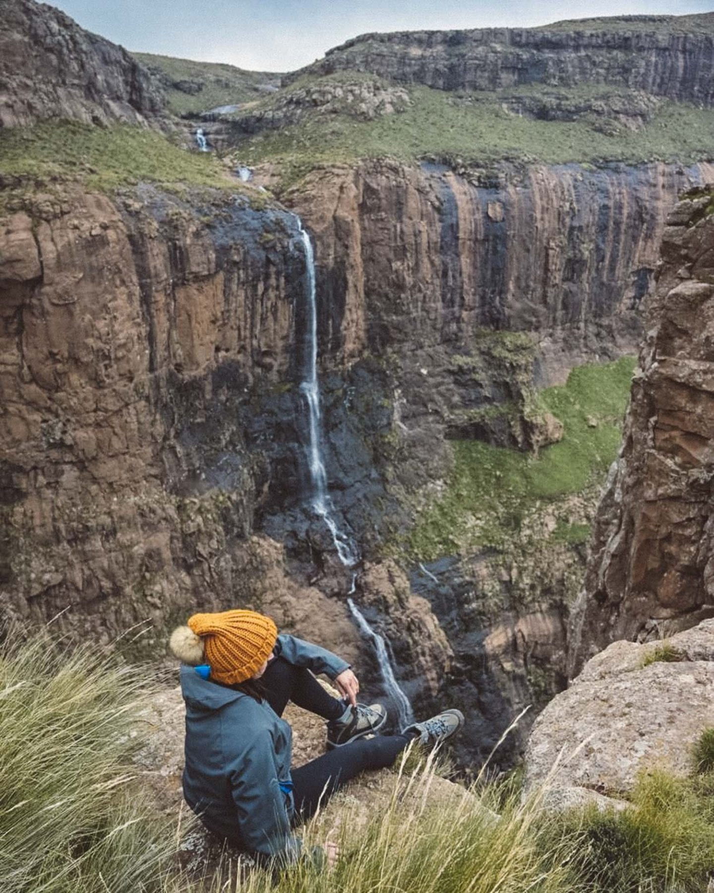 on top of tugela falls