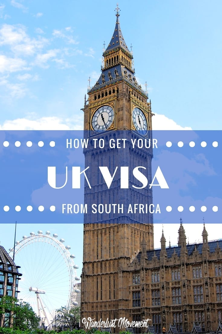 UK Visa application approved from South Africa