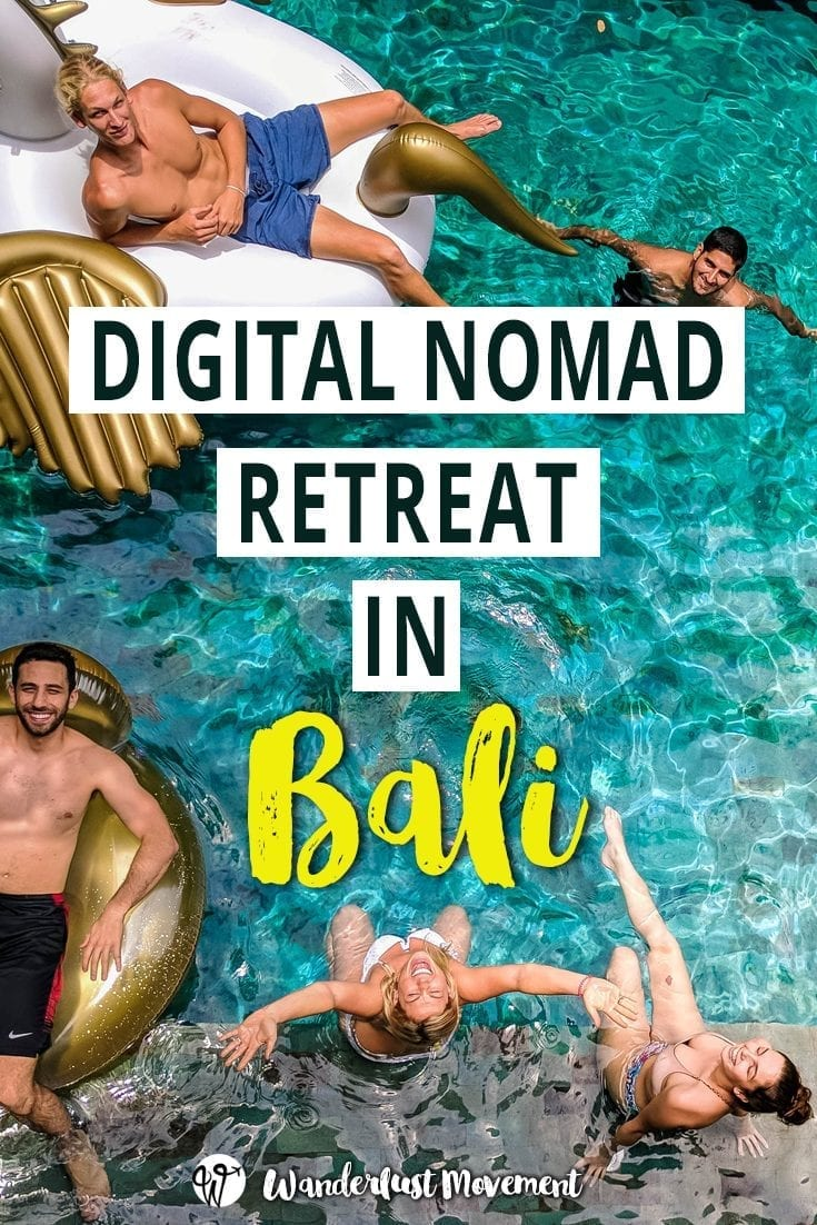 digital nomad retreat: spending a month in Bali with PACK