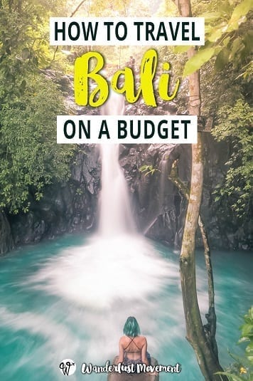 How to Travel Bali on a Budget as a Frugal South African | Wanderlust Movement | #budgettravel #bali #indonesia #backpacking #travetips