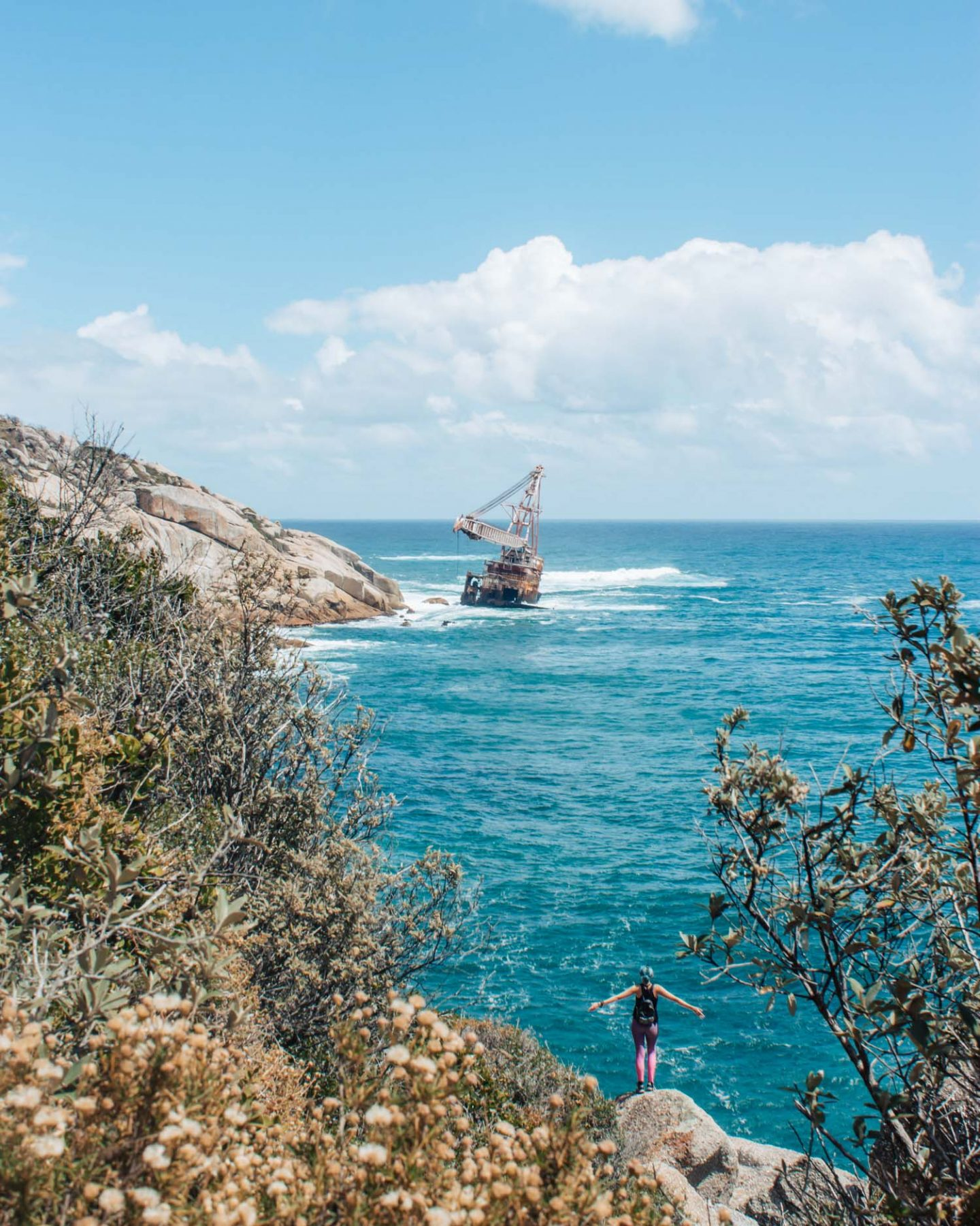 shipwreck hike in cape town