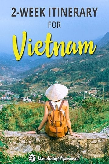 Planning a trip to Vietnam? Follow my 2-week backpacking itinerary for Vietnam. It will take you from the south to the north with stops in Ho Chi Min, Hanoi, Sapa, Hue and more! #vietnam #backpacking #traveltips