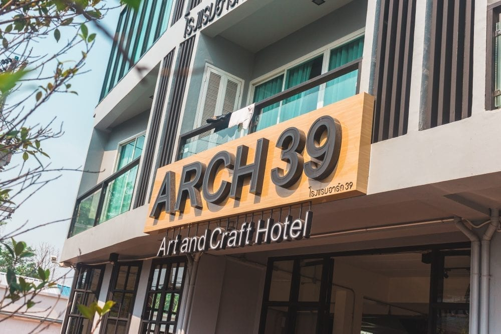 Staying at Arch 39 Hostel in Chiang Mai, Thailand | Wanderlust Movement