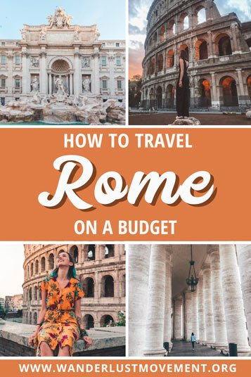Is it possible to travel Rome on a budget? YES! Here's everything you need to know to save money on a budget-friendly trip to Rome, free and cheap things to do in Rome, Italy as well as how much a trip to Rome actually costs.