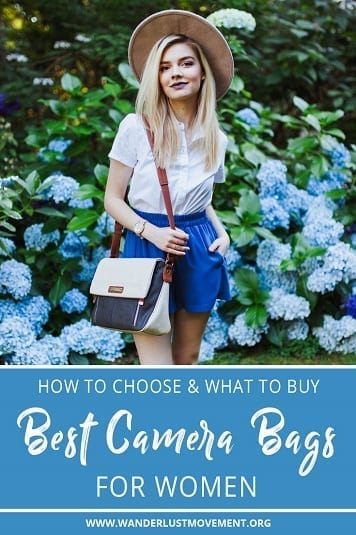 Life's too short for ugly camera bags. I've scoured the web to find the best camera bags for women that are stylish, cute and also 100% cruelty-free. | 10 Best Vegan Camera Bags for Women | #camerabagsforwomen #camerabags #designerbags #fashion #travel