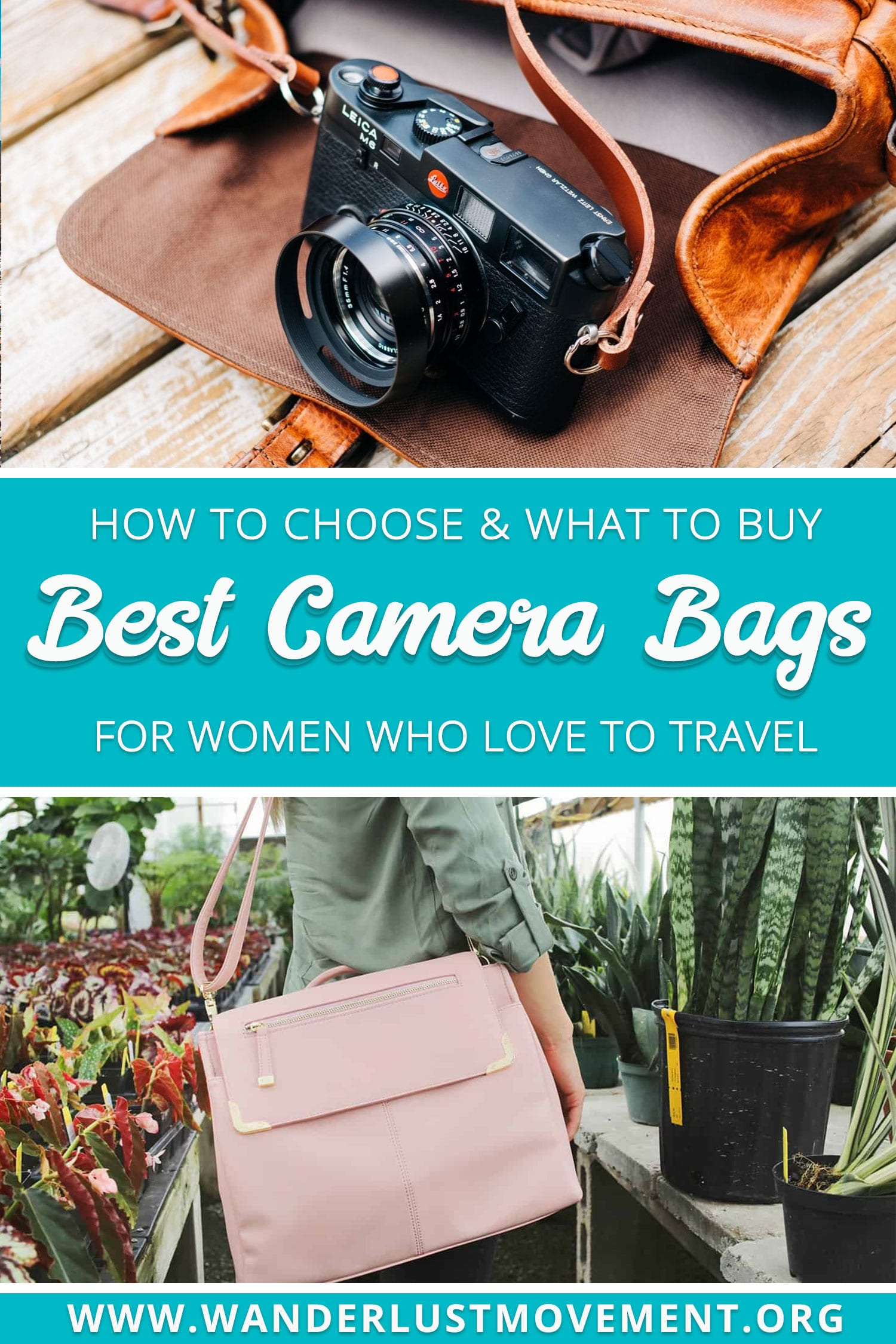 Life\'s too short for ugly camera bags. I\'ve scoured the web to find the best camera bags for women that are stylish, cute and also 100% cruelty-free. | 10 Best Vegan Camera Bags for Women | #camerabagsforwomen #camerabags #designerbags #fashion #travel