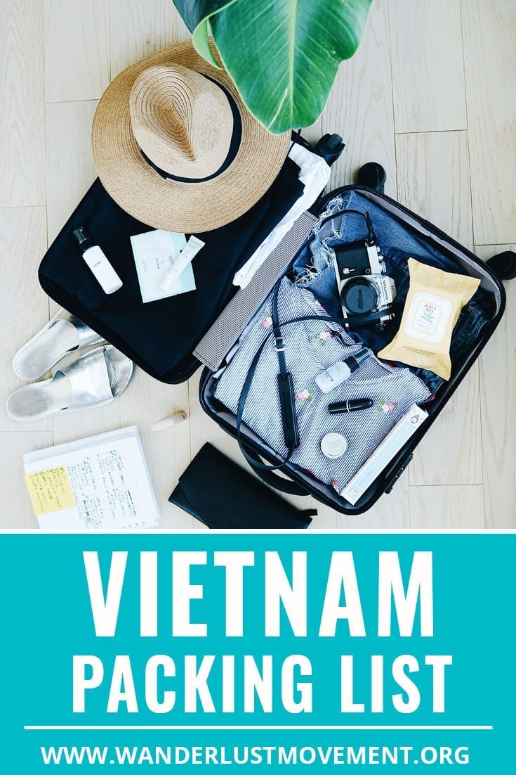Not sure what to pack for Vietnam? Ya gurl has you covered! From Vietnam travel outfit inspiration to essential items like a day bag, plug converter and the best bag for backpacking Vietnam. Here\'s the only Vietnam packing list for women you\'ll need to explore The Land of Blue Dragon like a pro. #packingtips #vietnam #asiatravel #packinglist