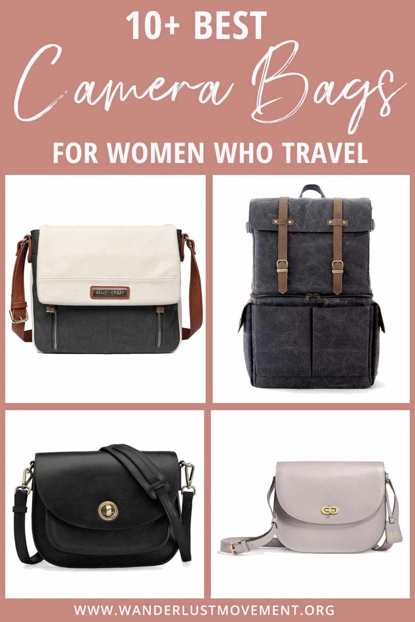 10 of the Best Camera Bags for Women Who Love to Travel