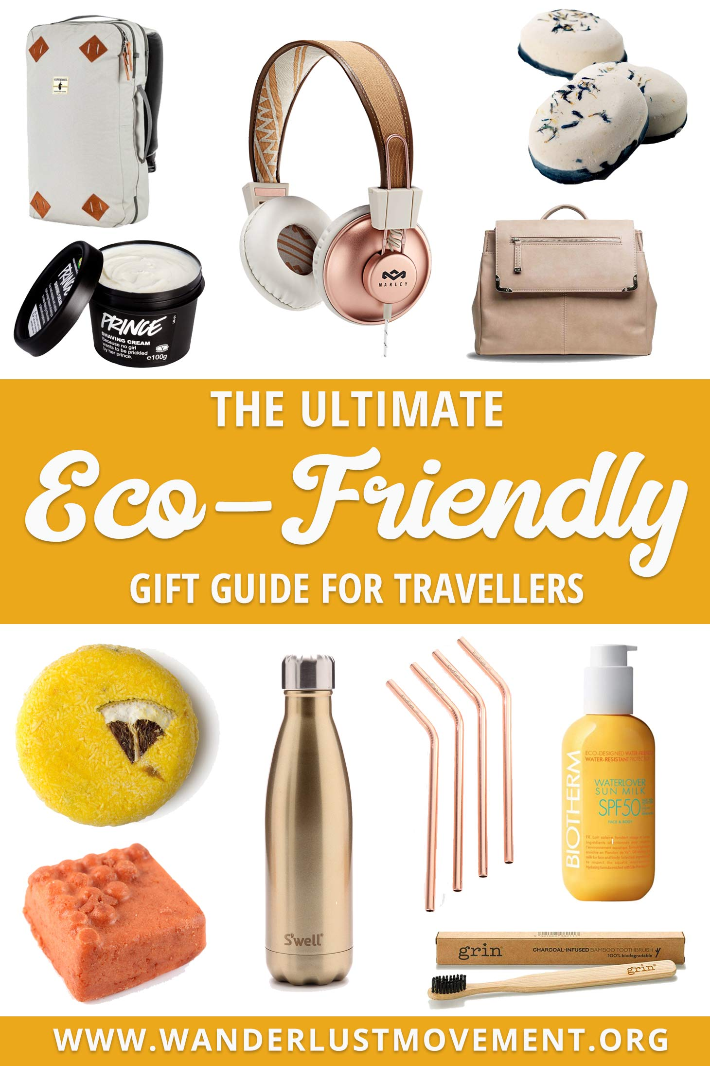 Searching for gifts that come with a low carbon footprint or zero waste? Not sure what to get the budding environmentalist/traveller in your life? I got ya back gurl. Here\'s my eco-friendly gift guide!| Eco-friendly Gifts | Eco-friendly Gift Ideas | Gift guide for her |#giftguides #zerowaste #traveltips