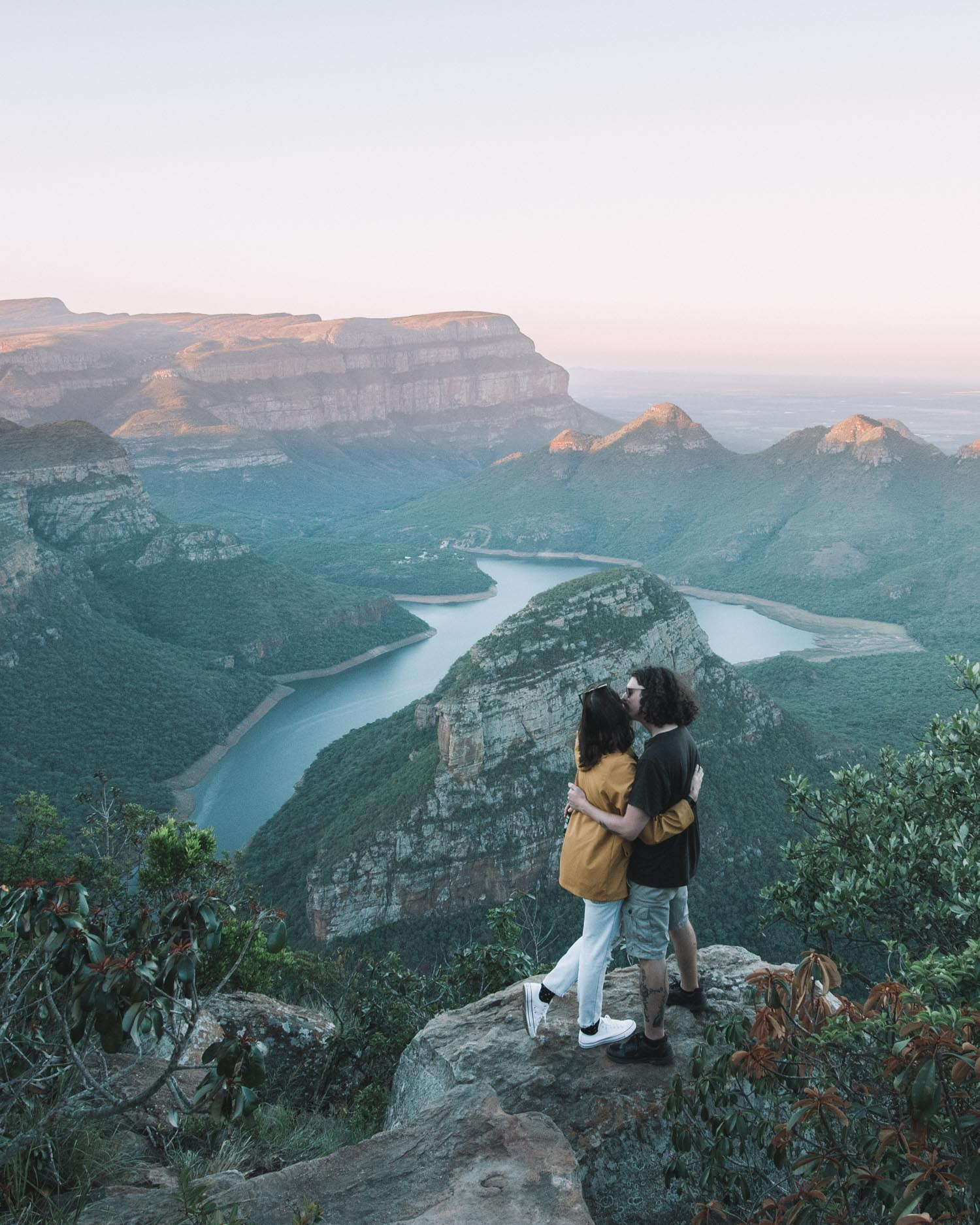 couple at Blyde River Canyon