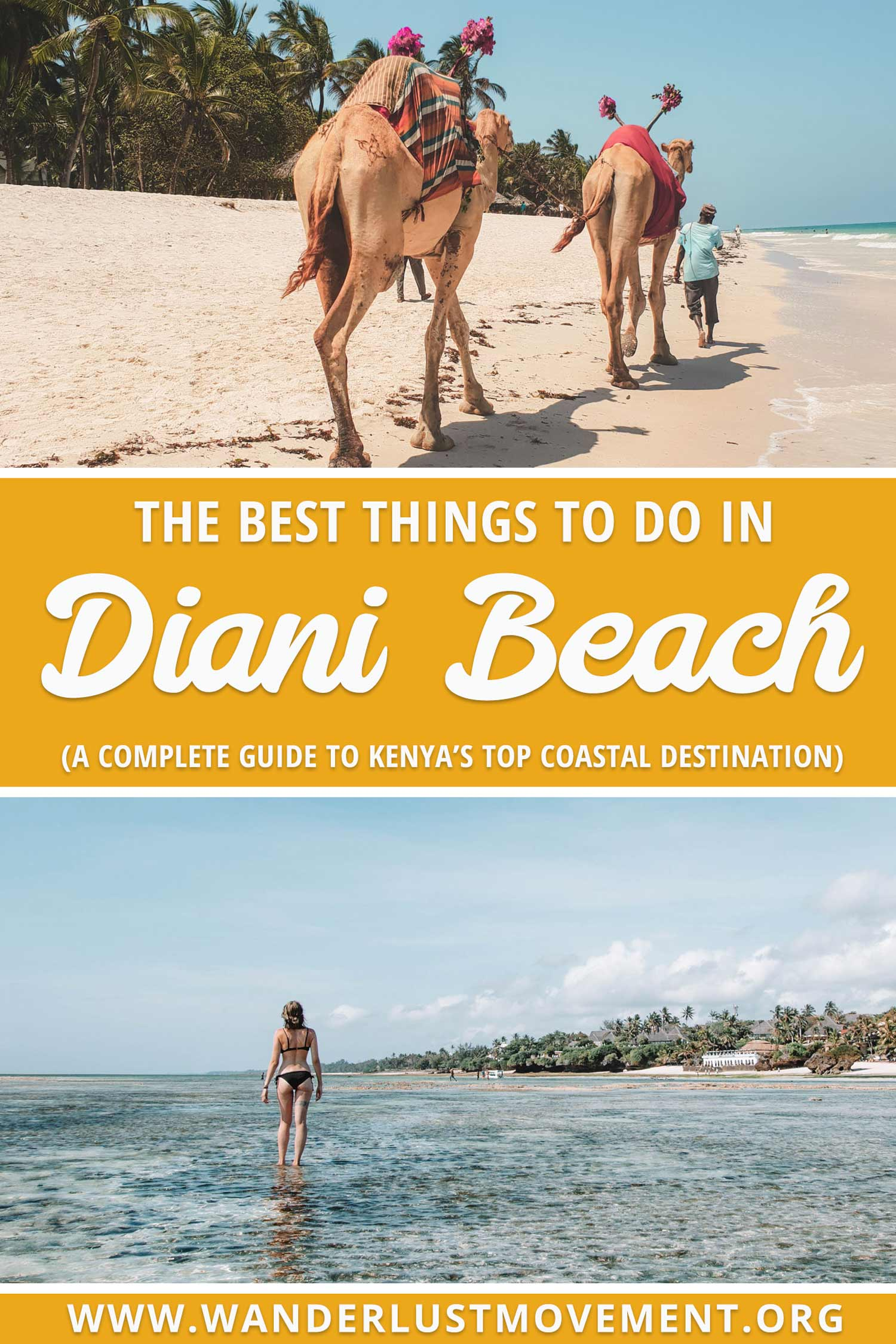 Armed with crystal clear waters, beautiful coral reefs and gorgeous beachfront hotels, Diani Beach is one of Kenya's top beach destinations. Here's everything you need to know to plan your Diani Beach trip, including the best things to do in Diani Beach! | Kenya Travel Tips | Kenya Travel Guide | Diani Beach Travel Guide | Africa Travel | #kenya #dianibeach #traveltips #africa #thingstodo