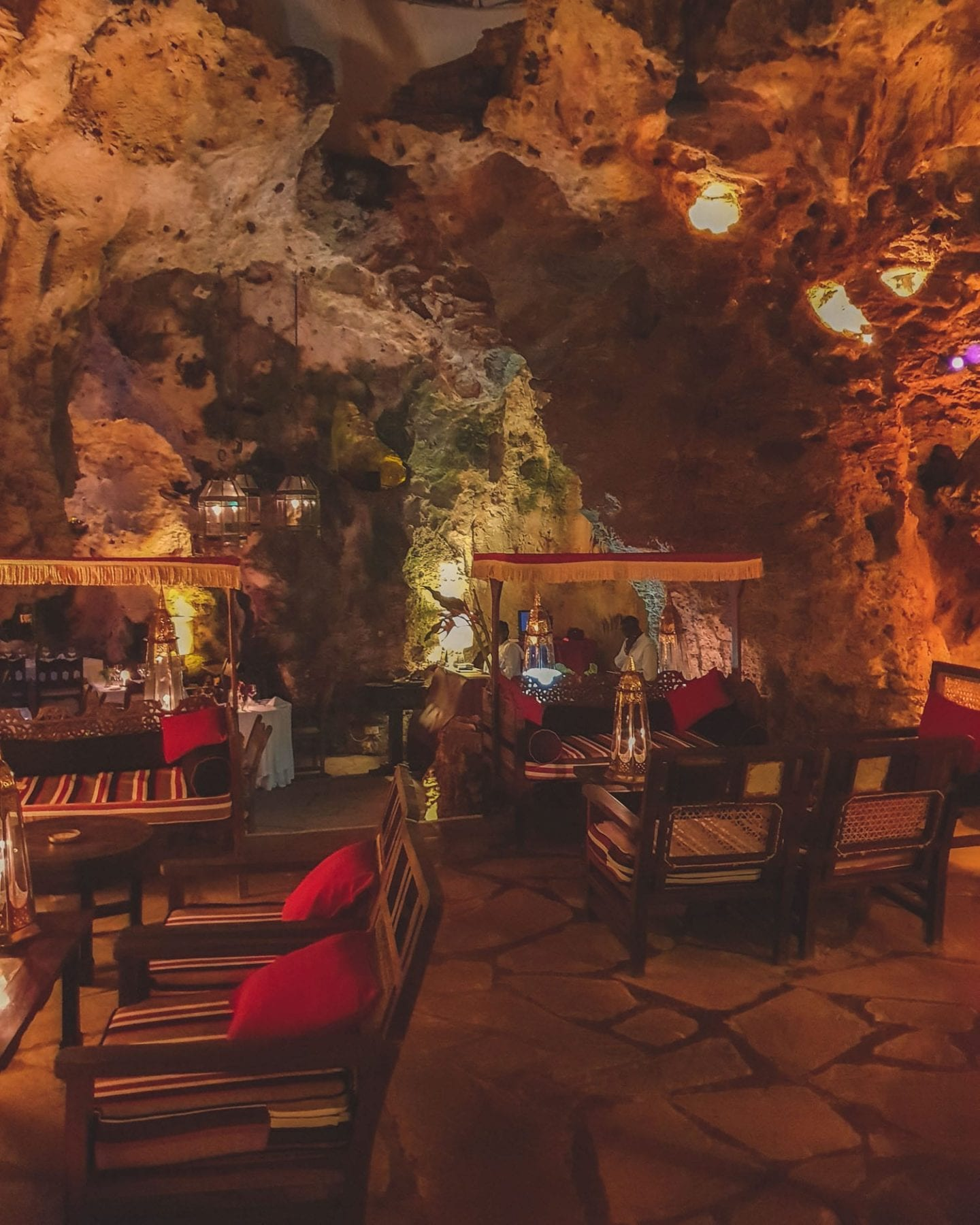 Ali Barbour's Cave Restaurant and Forty Thieves Beach Bar