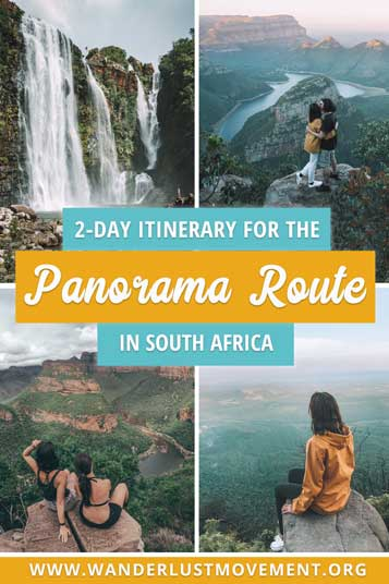 The Panorama Route in South Africa is the most scenic road trip in the country and one of Africa's greatest natural wonders. Here's my 2-day itinerary for the Panorama Route & everything else you need to know to have an epic road trip through the beautiful Mpumalanga region!   Panorama Route South Africa   Panorama Route Map   South Africa Travel Tips   South Africa Road Trips   South Africa Photography   #southafrica #africa #panoramaroute #roadtrip #traveltips
