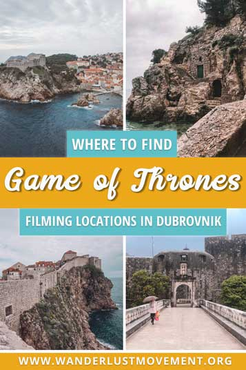 As the world gears up for the finale of Game of Thrones, I finally made it to the ultimate fangirl destination of the TV series – Dubvronik, Croatia. With only 24-hours in the city, I scrambled to see as much of King's Landing as possible and immerse myself into the world of one of my favourite TV shows and book series! | Game of Thrones filming locations | Game of Thrones filming Dubrovnik map | #GameofThrones #Dubrovnik #Croatia