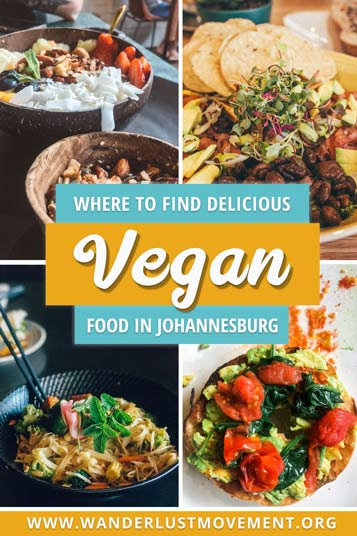 Over the last few years, Johannesburg has stepped up its vegan food game. Whether you're visiting the City of Gold on holiday, over a stop-over or you're a local looking for a few new haunts, I've whittled down my go-to vegan eats list to the best of the best (in my hungry opinion). Here's where to find the best vegan food in Johannesburg!| Vegan Food Travel | Johannesburg South Africa | Johannesburg Travel Guide | #johannesburg #southafrica #veganfood #vegantravel