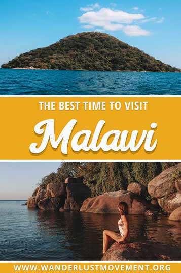 Malawi is an incredible destination in Africa! Whether you're looking to plan a Big 5 safari or relax on Mumbo Island in Lake Malawi National Park - there's something for everyone. But before you book your flights, you need to take into the account Malawi's two distinct seasons. Otherwise, you might visit during the rainy season - the worst time for safaris, but the best time for birding. Here's the best time to visit Malawi! #malawi #africatravel