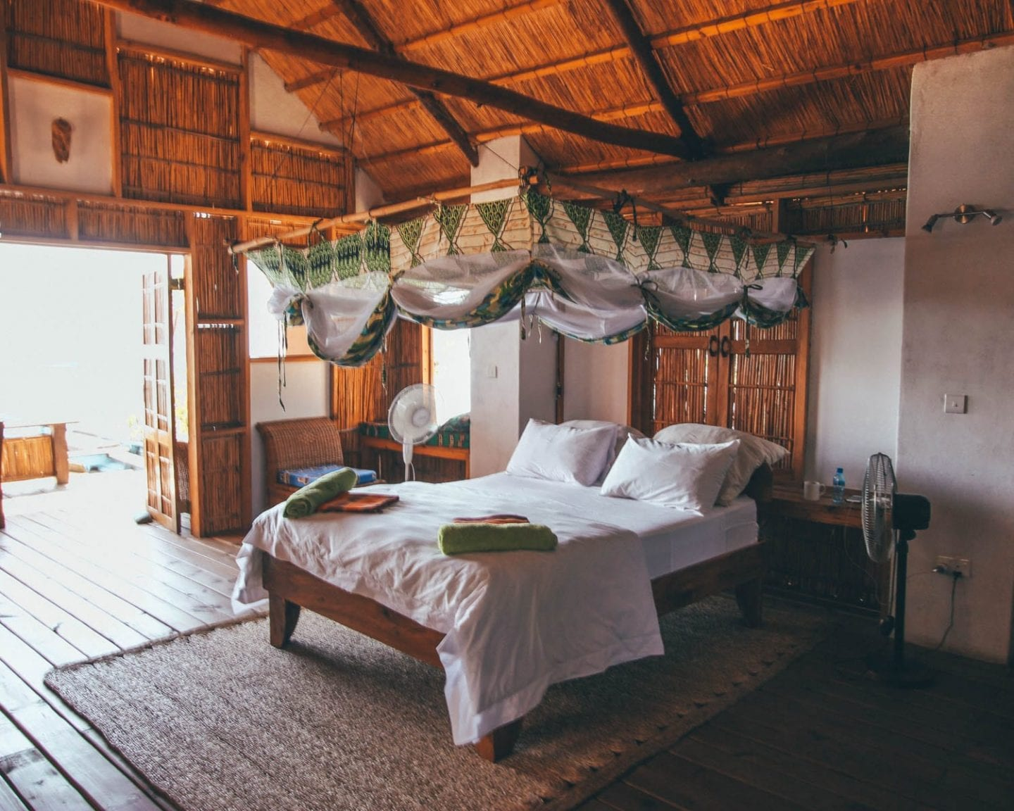 cape maclear cottage in malawi