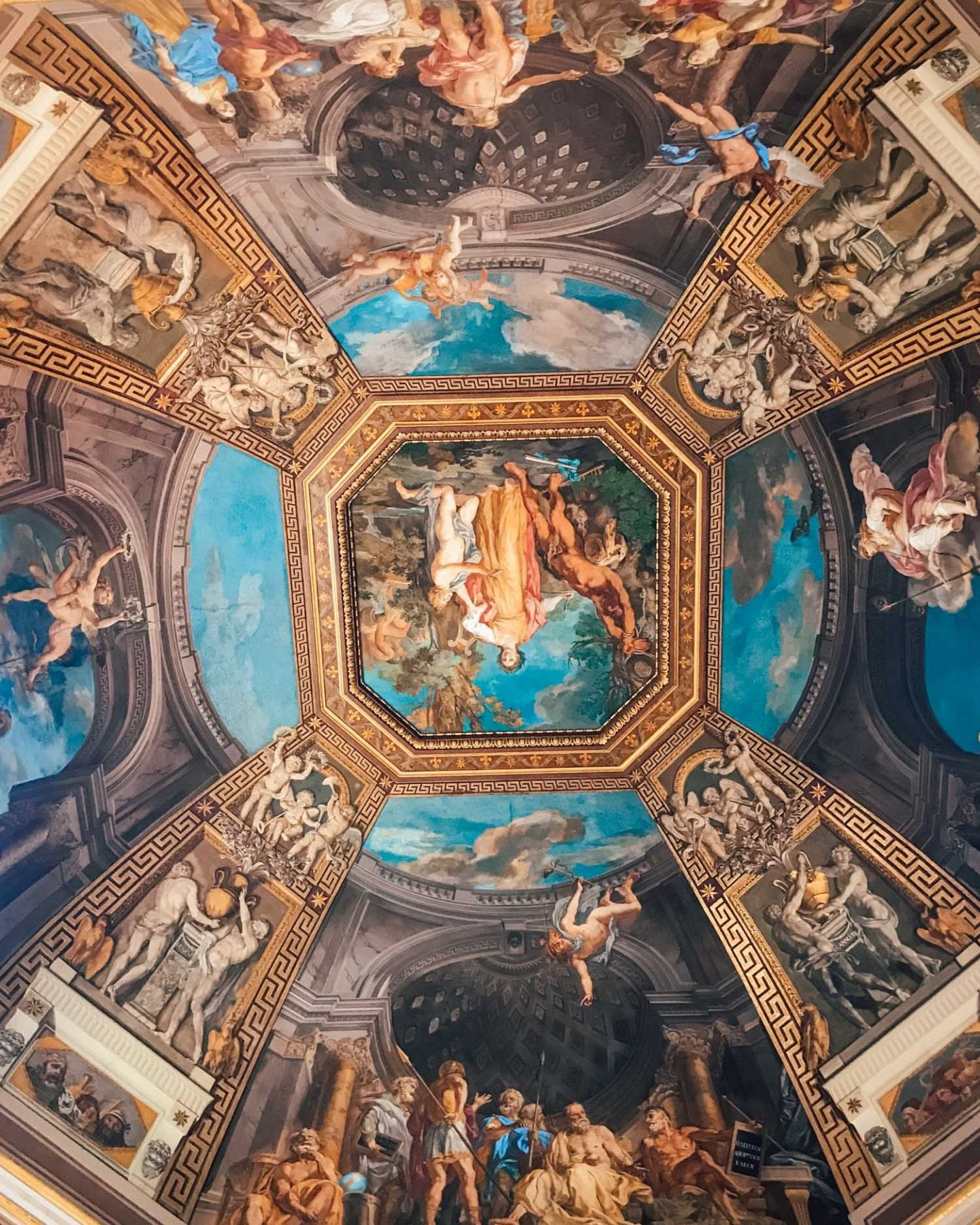 ceilings in the vatican