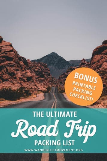 Planning an epic road trip close to home or abroad? Don't leave your house without these road trip essentials! Download the free road trip checklist to make sure you don't forget your toothbrush or anything else that's important...again