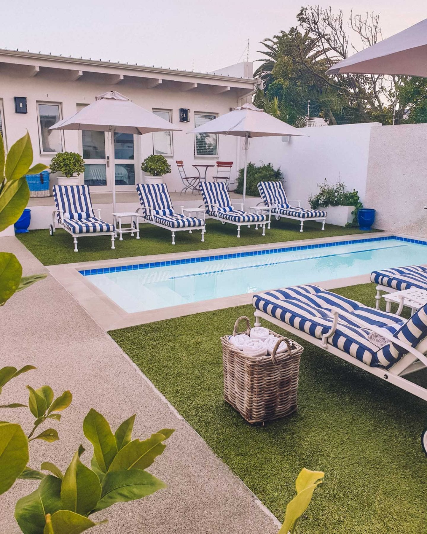 pool at Staying at One Marine Drive Boutique Hotel in Hermanus