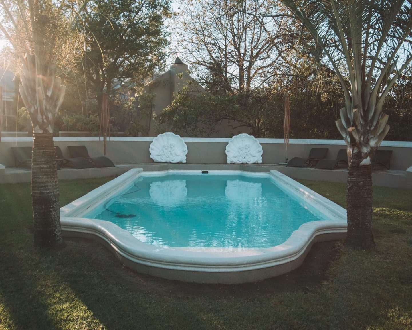 pool at Schoone Oordt Country House