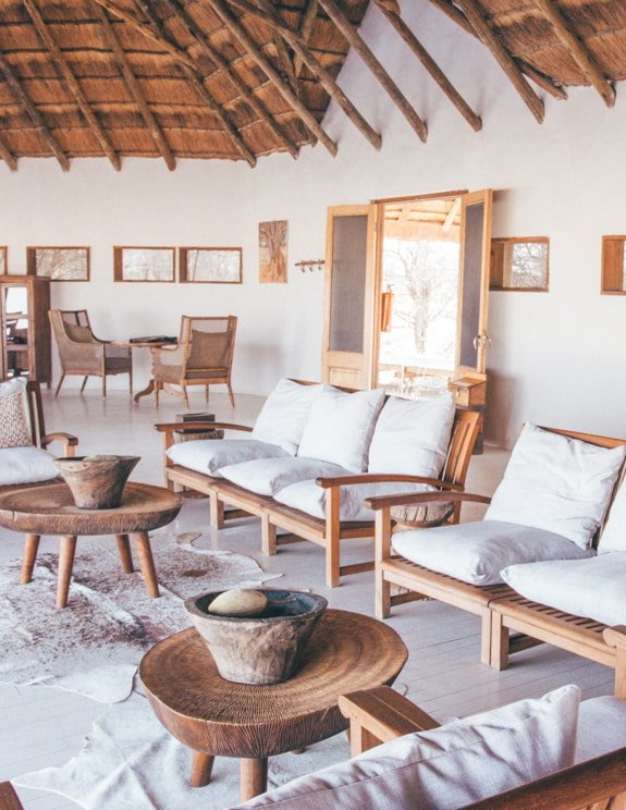 Staying at Nxai Pan Camp in Botswana