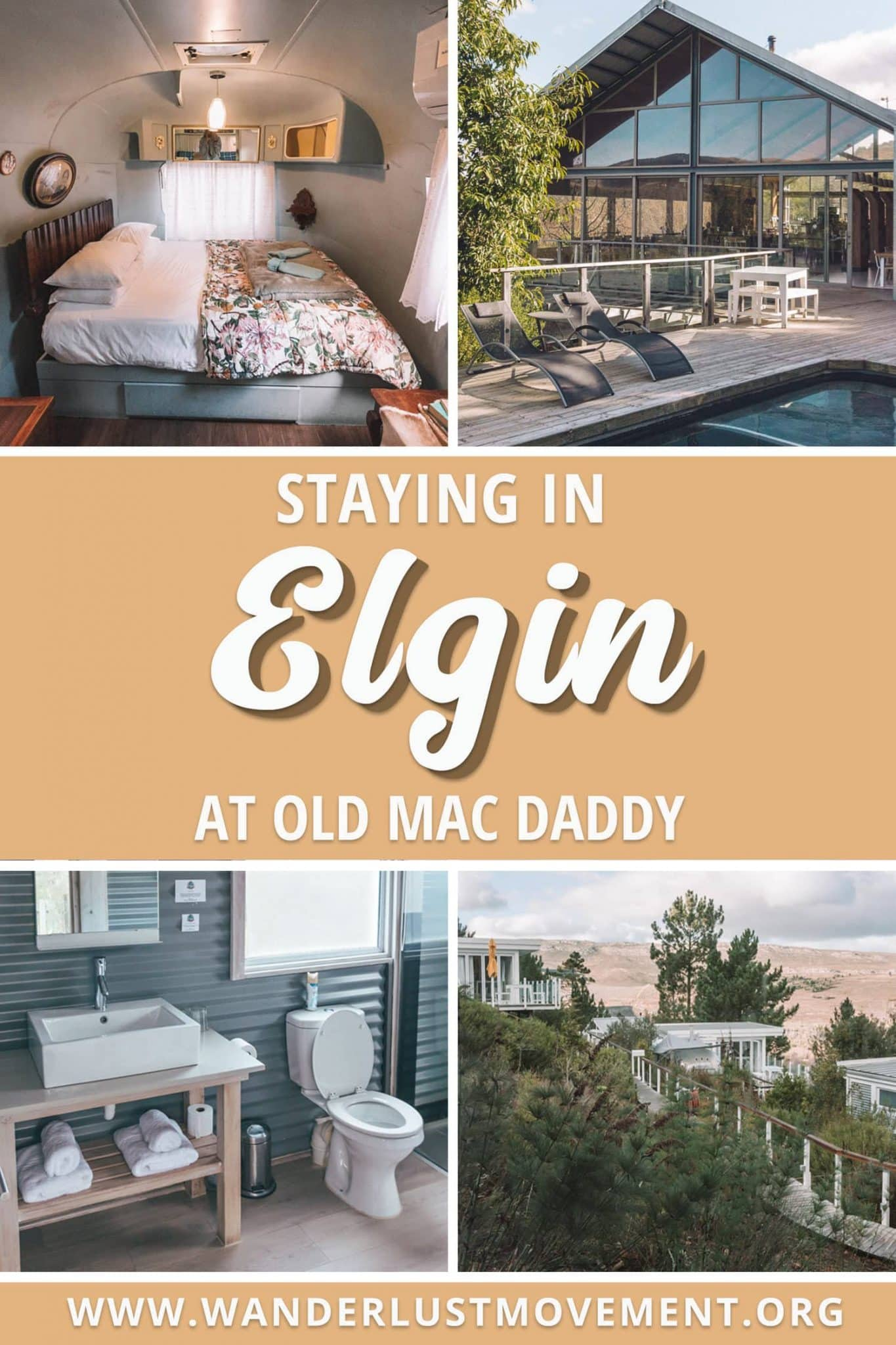 Staying at Old Mac Daddy in Elgin