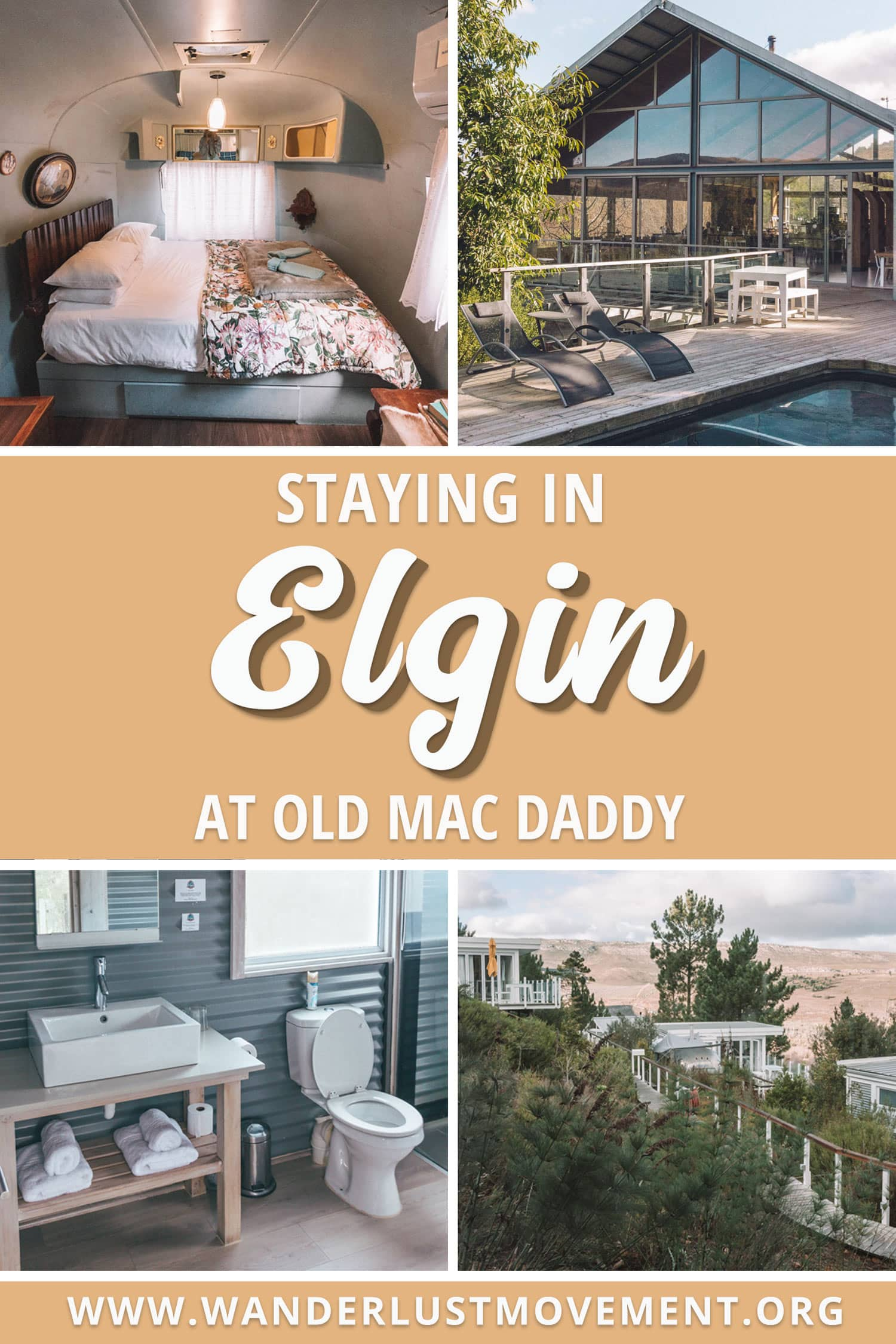 Tired of staying at run-of-the-mill hotels? Here\'s what it\'s like staying in one of Old Mac Daddy\'s custom airstream trailers in Elgin, South Africa! | South Africa Travel Tips | Accommodation Reviews | Where to Stay in South Africa #southafrica #travel #hotels
