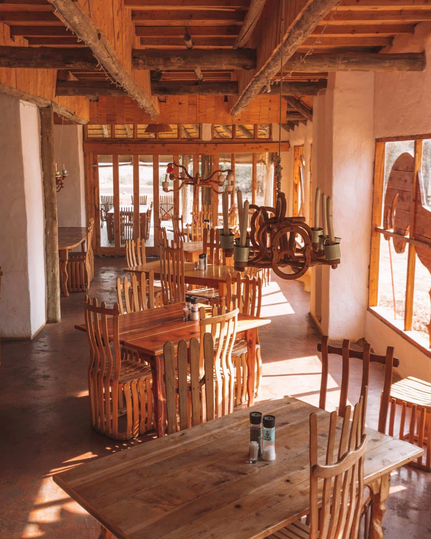 restaurant at Antbear Lodge