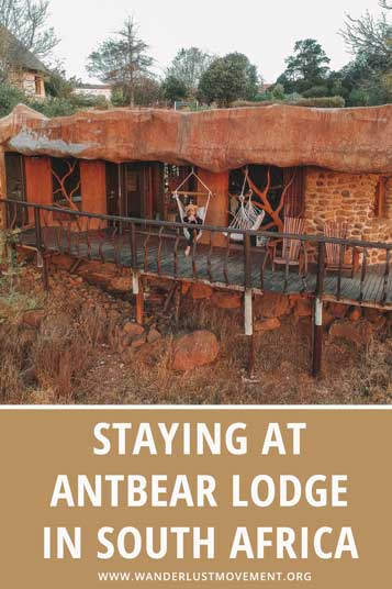 Stay somewhere unique the next time you go to the Drakensberg. Antbear Lodge is a quirky stay with an incredible luxury cave suite!