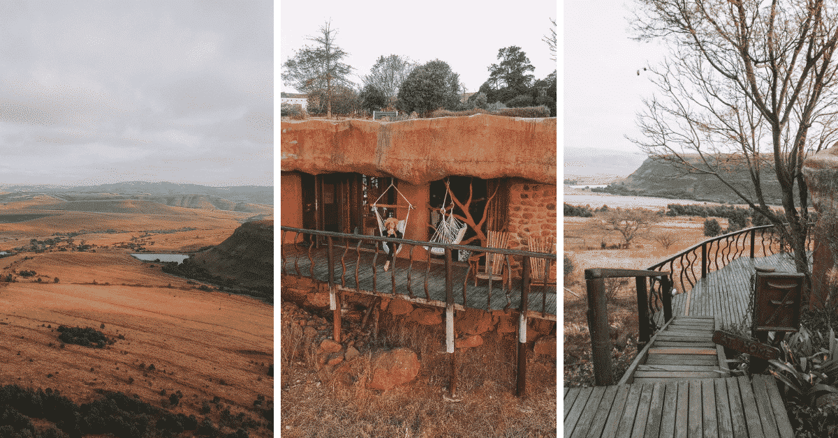 Staying at Antbear Lodge in South Africa
