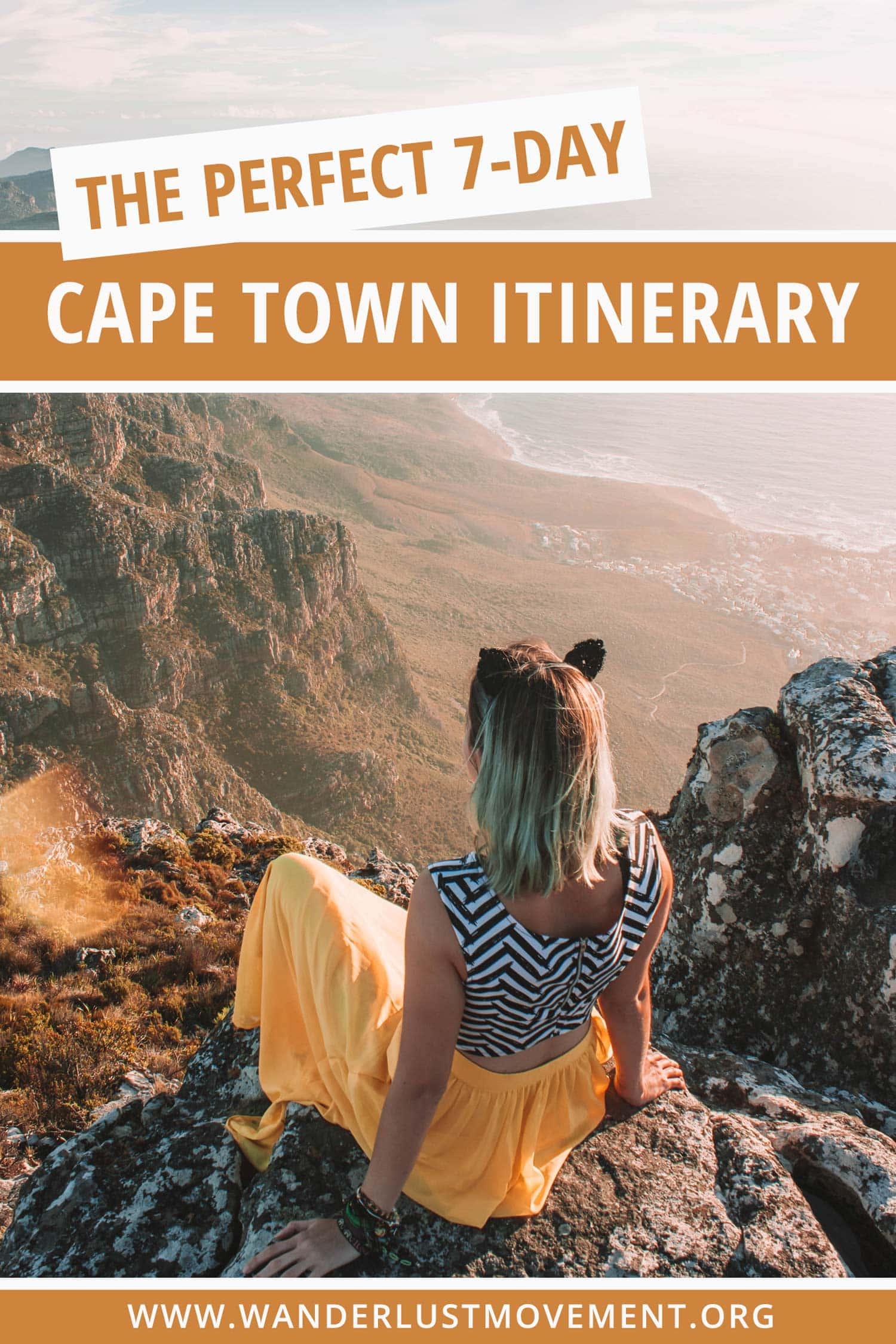 On the hunt for the perfect Cape Town itinerary? I'm happy to report that much of the legwork has already been completed. After living in Cape Town for 4 years, countless hours of detailed research and copious amounts of coffee consumed, I've created a thoroughly fantastic agenda that highlights all the best things to do in Cape Town! Swim with penguins at Boulders Beach, watch the sunset on top of Table Mountain and more! #capetown #southafrica #travel