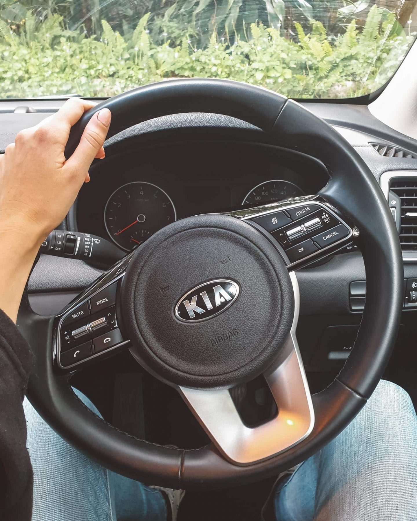 kia sportage steering wheel