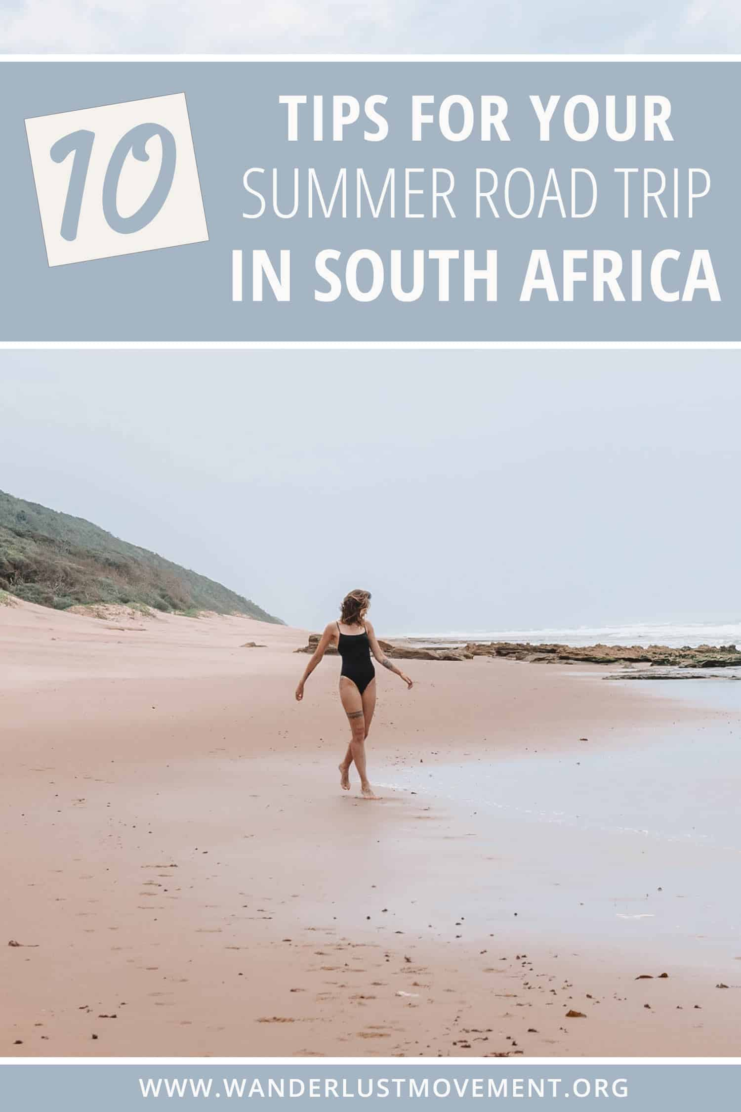 Planning a road trip to South Africa? Here are some tips for your summer road trip that you need to know! As well as a few essentials that you don\'t want to leave at home. #southafrica #roadtrip #traveltips #summer