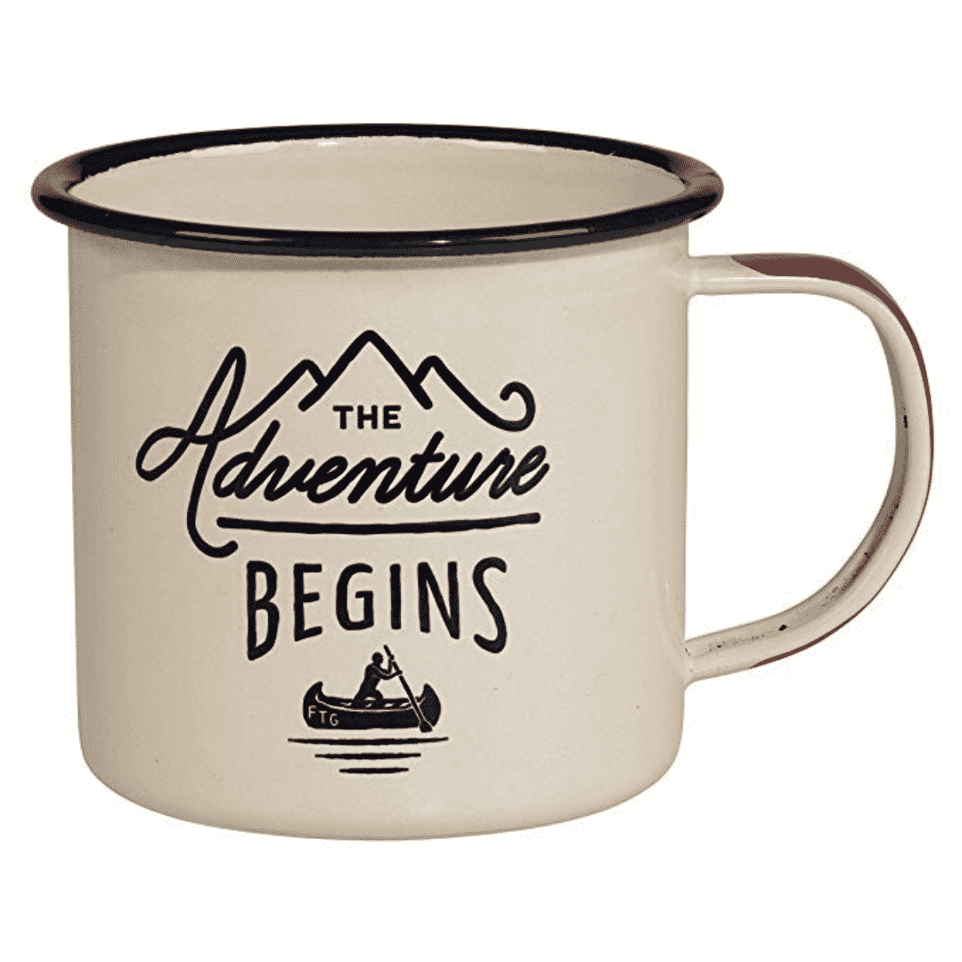 Camping Enamel Travel Mug