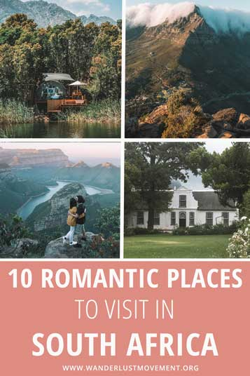Want to spoil your beau with a romantic getaway? Here are some of the most romantic destinations in South Africa perfect for Valentine's Day!