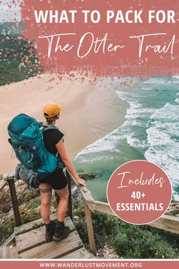 The Otter Trail can and will kick your butt if you arrive unprepared. Level up with this super detailed packing list (don't leave home without #5!)