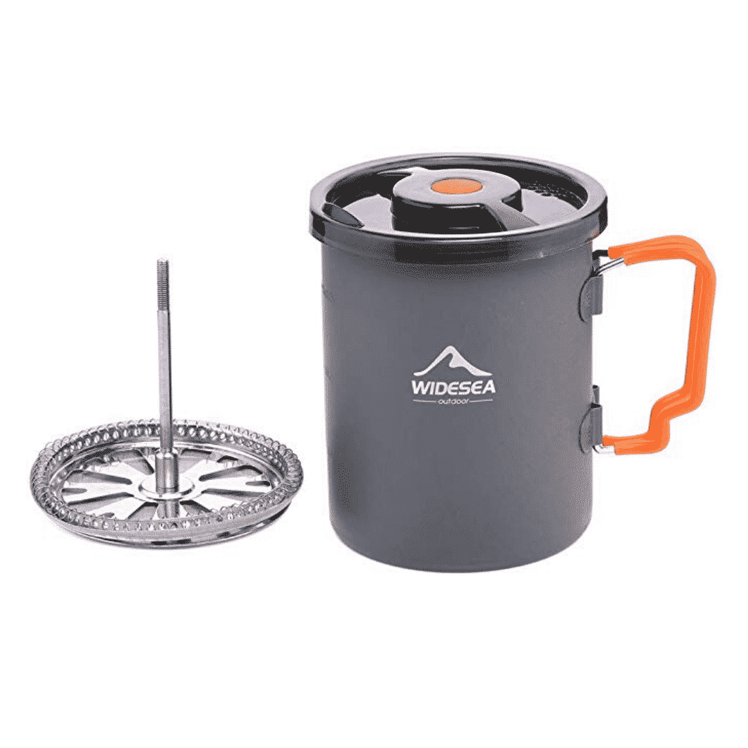 coffee plunger for camping