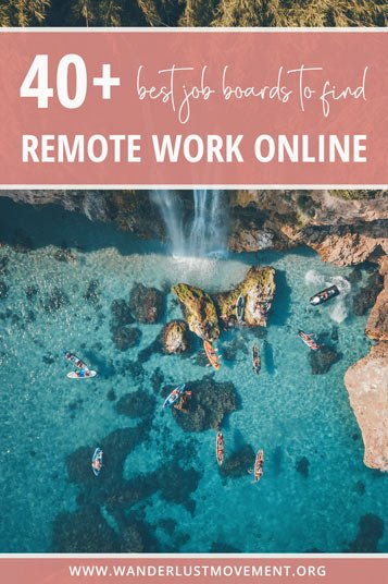 Feeling stuck with your remote work job search? Here are the best sites to find remote work online - no matter your niche!