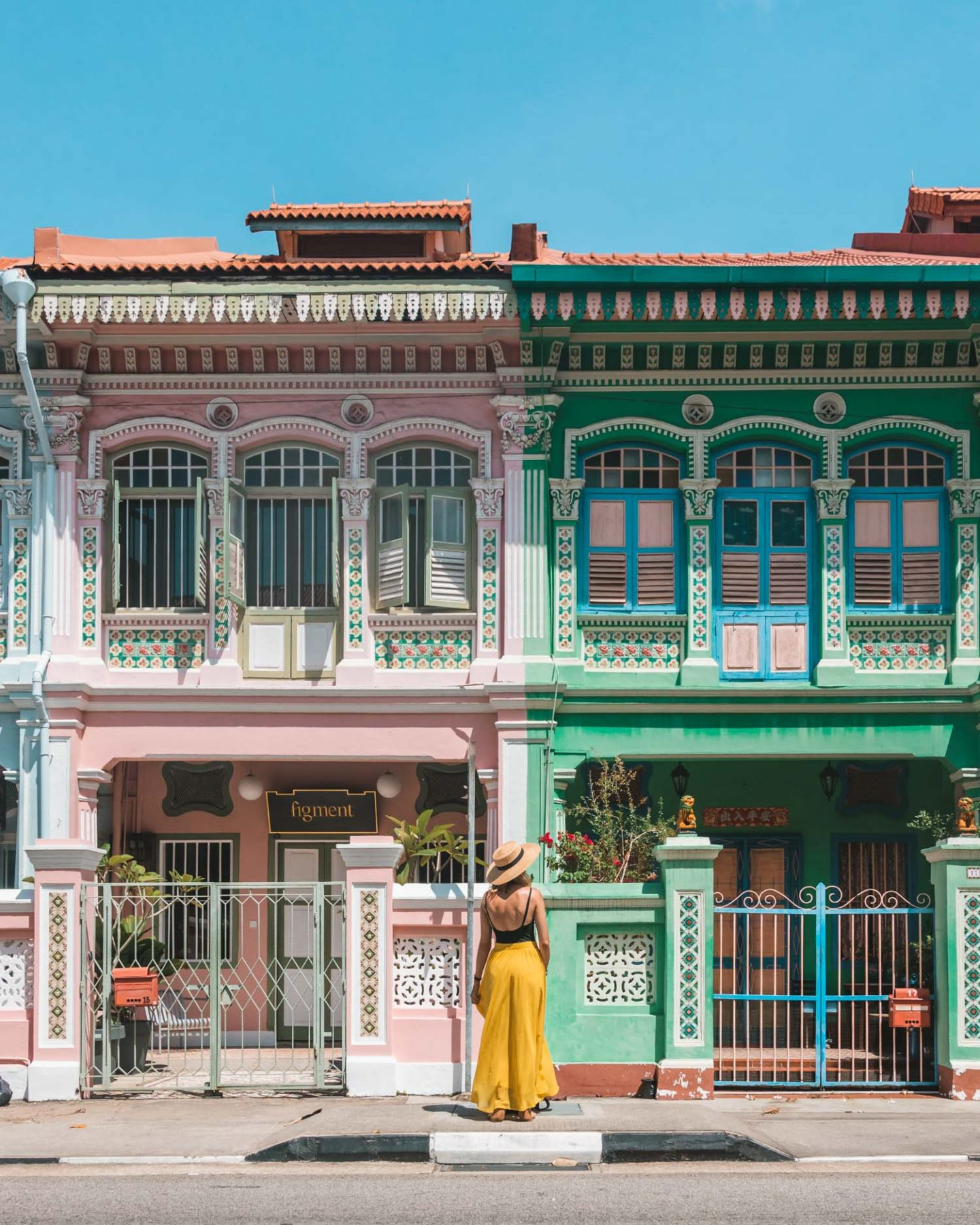 Pastel Houses of Joo Chiat Road