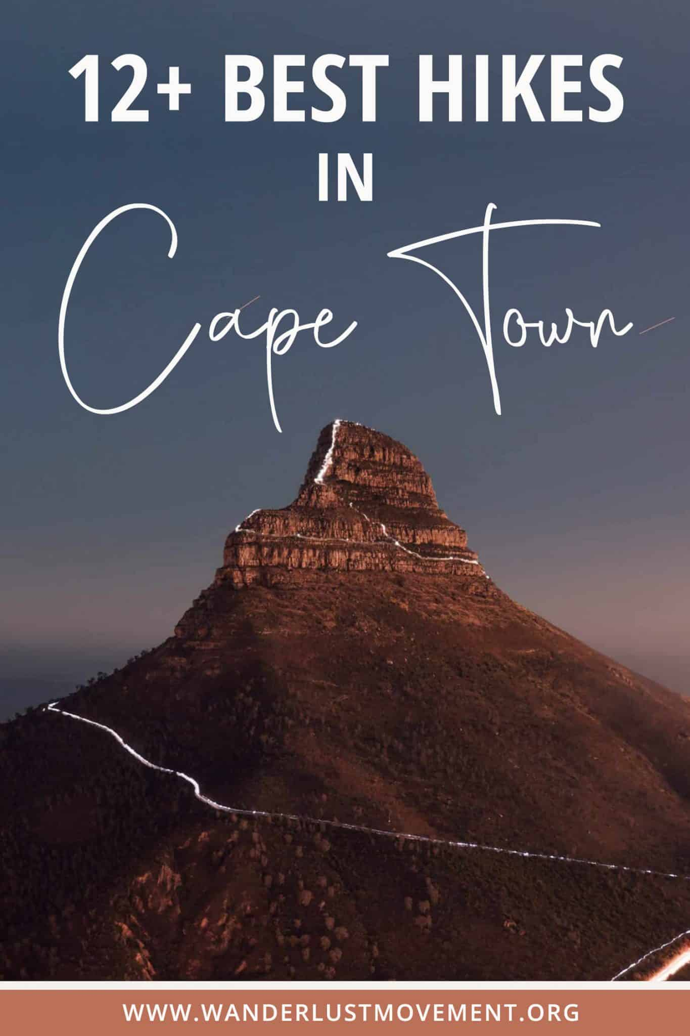 12 Best Hiking Trails in Cape Town With Jaw-Dropping Views