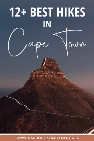 Want to conquer the best hiking trails in Cape Town? You're in the right place! Here are some of the top trails with jaw-dropping views.