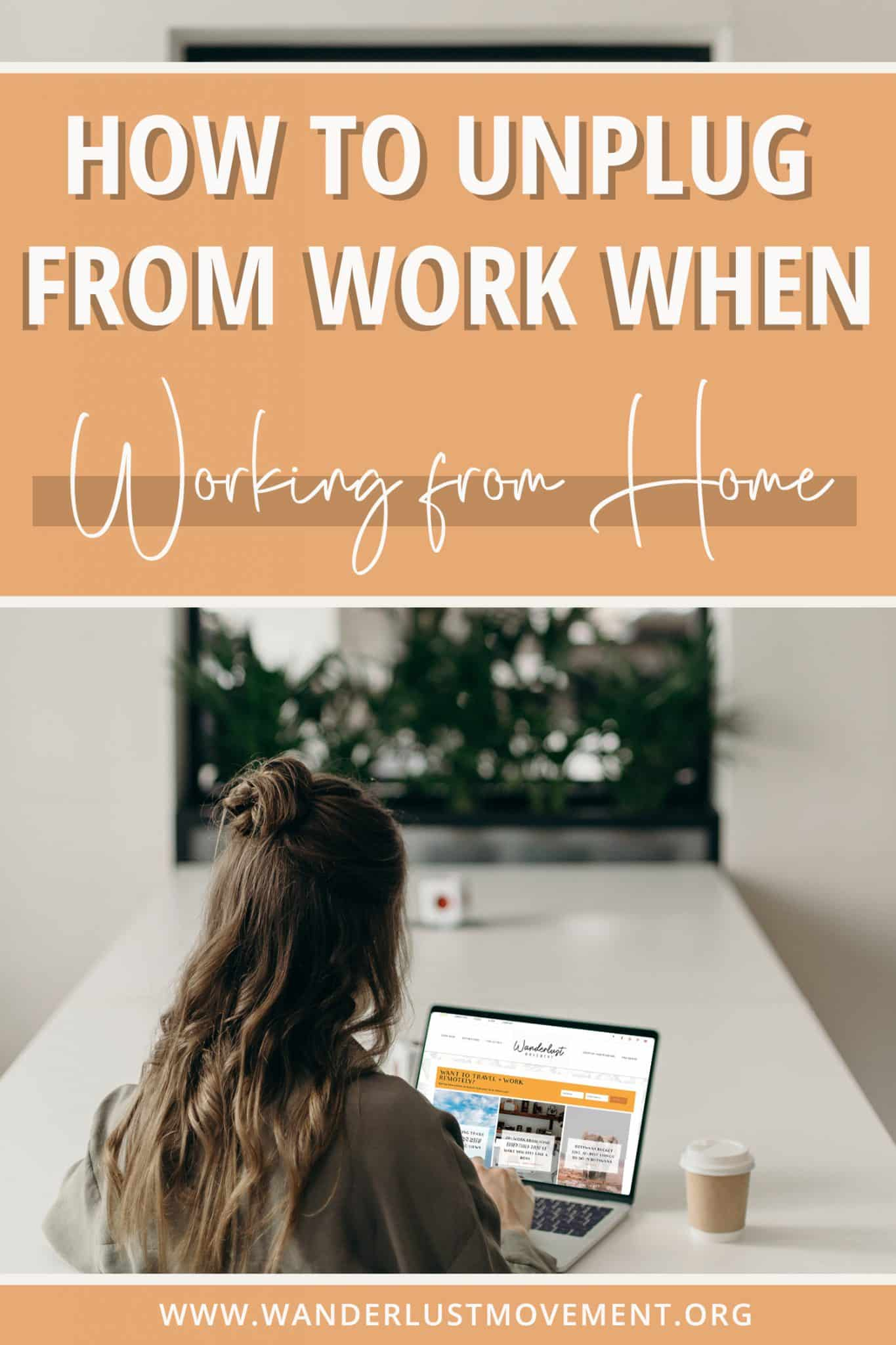 """How to """"Unplug"""" From Work: Tips for a Healthy Work/Life Balance"""