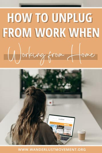 Feeling burnt out working from home? Like you're ALWAYS at the 'office'? Here are some fire tips to help you unplug from work!