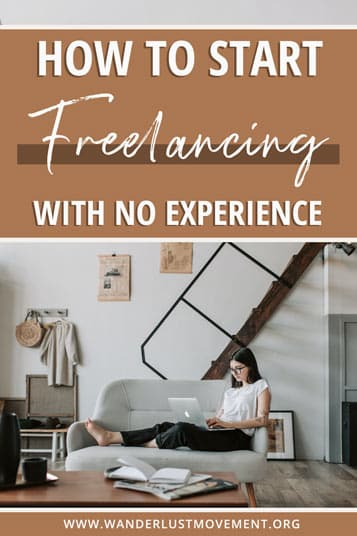 Want to start freelancing, but you have no experience? Follow this step-by-step guide to get your location independent biz off the ground!