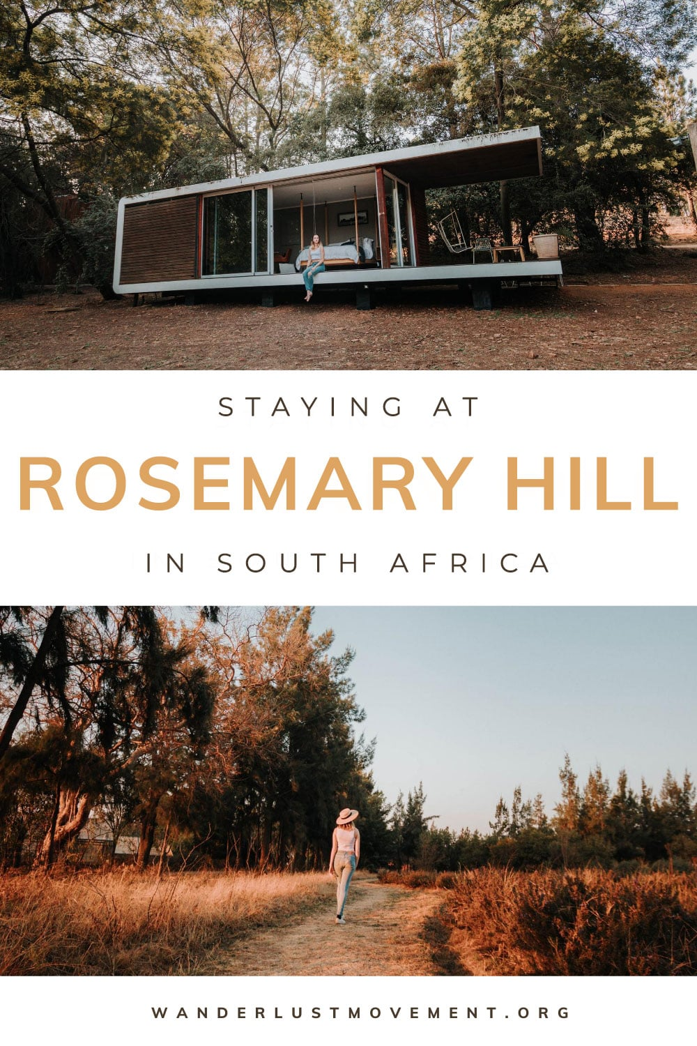 Staying in a Cabin at Rosemary Hill Farm in Pretoria