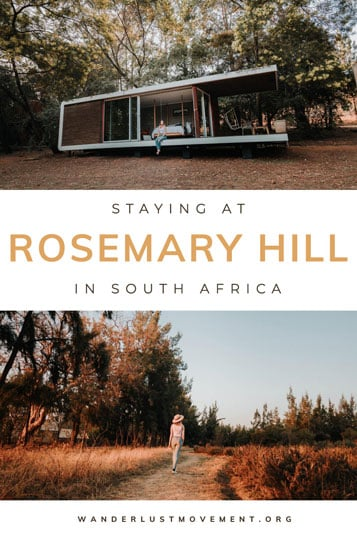 Romance. Seclusion. A private cabin in the woods. That's what you can expect and more at Rosemary Hill Farm in Pretoria!